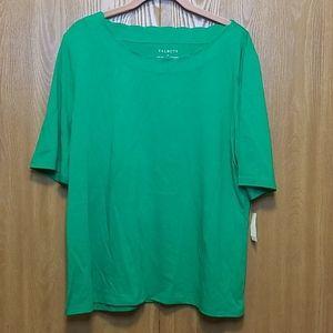 Talbots pima cotton tshirt